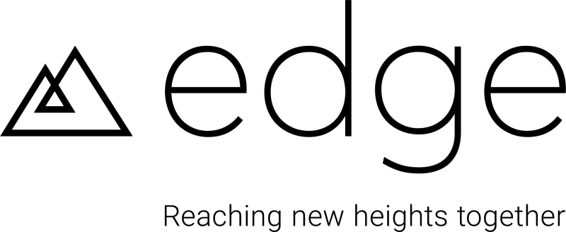 Edge Logo Black