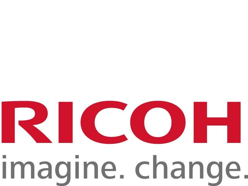 Ricoh Logo With Tagline Low